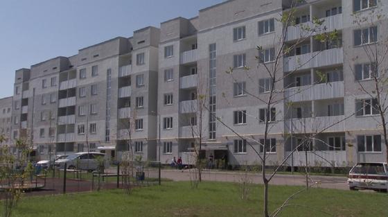 Многоэтажный дом в Алматы