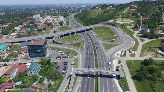 Когда будут закончены строящиеся развязки в Алматы, рассказали в акимате