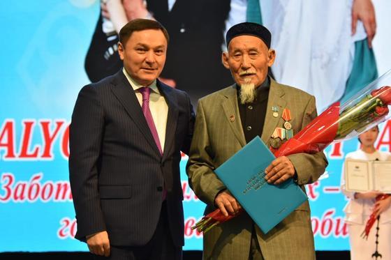 В Кокшетау чествовали пожилых людей