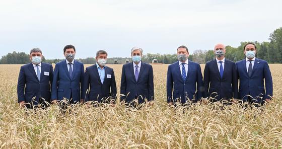 Касым-Жомарт Токаев на встрече с аграриями в СКО