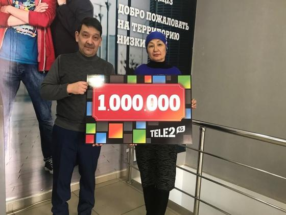 """26 млн тенге уже разыграно в масштабной акции """"Стань миллионером"""" от Tele2"""