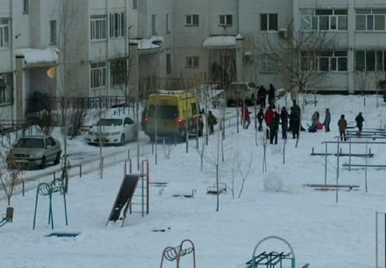 Двор в Уральске
