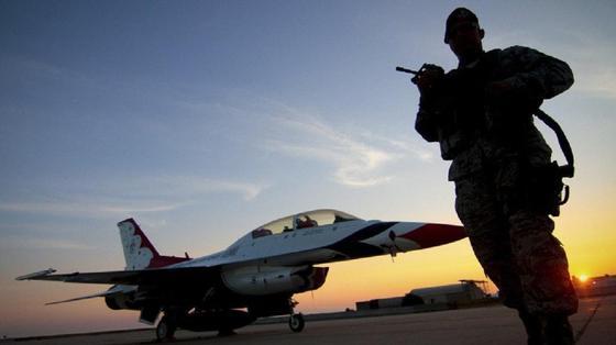 Беспорядки на басе ВВС США: скончался один человек