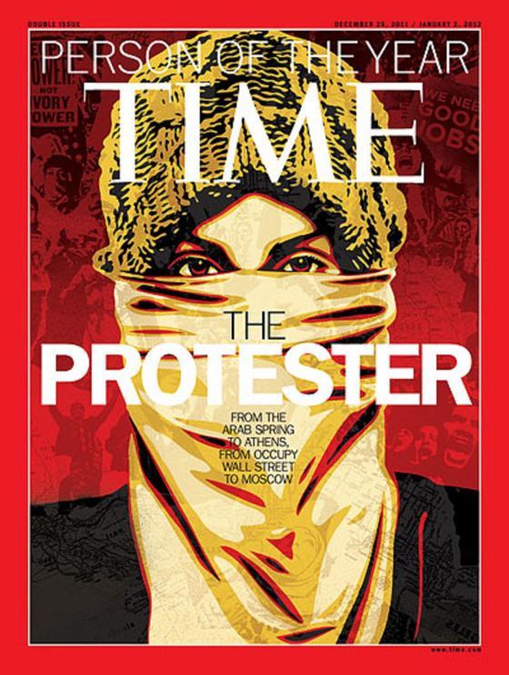 Обложка Time в 2011 году