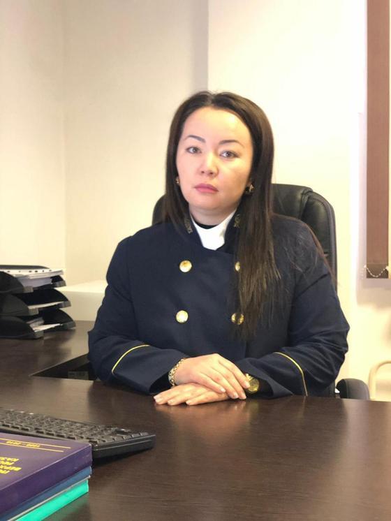Новые лица судебной системы РК: судья Таразского городского суда Назира Удербаева