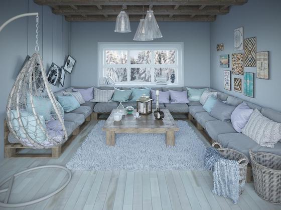 Дизайн зала в квартире: идеи, фото
