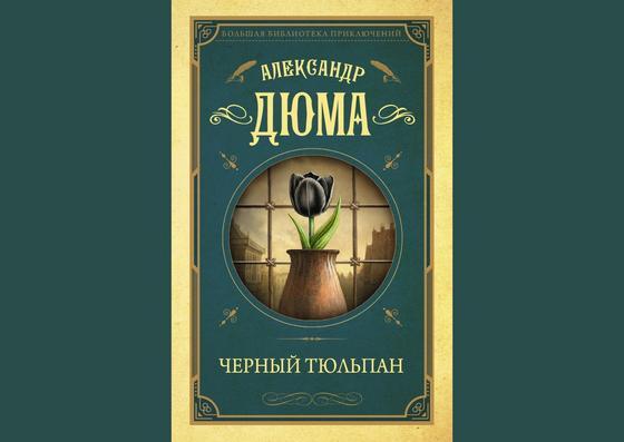 Обложка книги «Черный тюльпан»