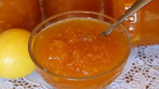 Варенье с апельсинами приготовлено