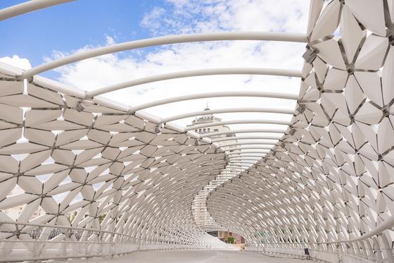 Атырауский мост в Нур-Султане