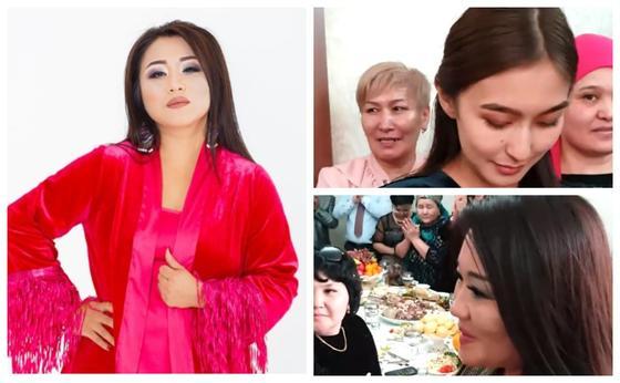 Ақбота Керімбекова. Фото: Видеодан кадр, әншінің жеке парақшасынан. Коллаж: NUR.KZ