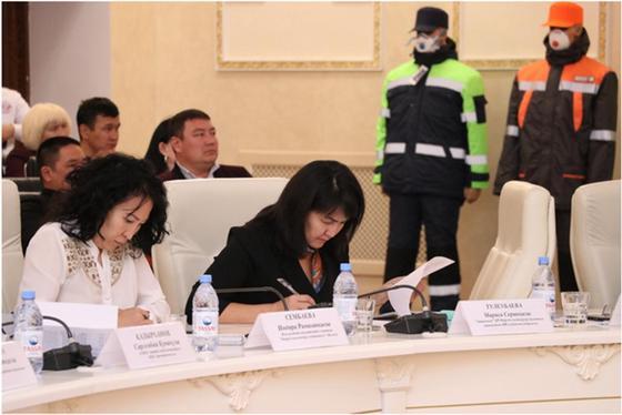 Обеспечение безопасных условий труда на предприятиях обсудили в Актобе