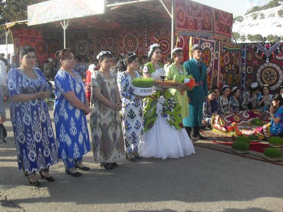 Празднование Наурыза