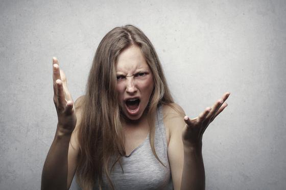 Злая женщина