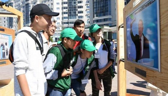 Фотовыставка «Нурсултан Назарбаев: эпоха созидания» открылась в столице