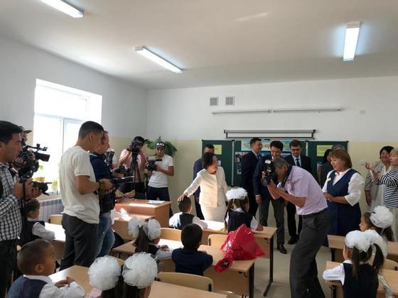 В Арыси полностью восстановлена школа имени героя ВОВ Ивана Журбы