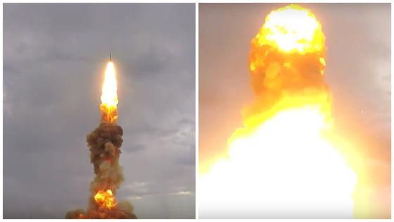 Испытания новой российской противоракеты в Казахстане попали на видео