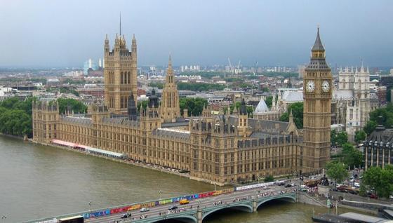 Cледы кокаина нашли в туалетах британского парламента