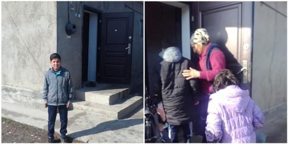 Шымкентскому мальчику, сдающему металлолом, чтоб прокормить семью, купили дом
