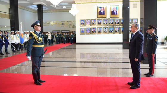 Токаев принял участие в расширенном заседании коллегии Министерства обороны