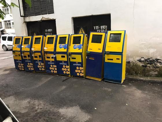 Подделки под официальные лотерейные терминалы Lotomatic выявили в Алматы
