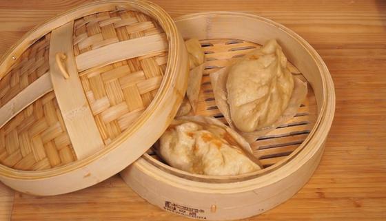 Пигоди в бамбуковой пароварке