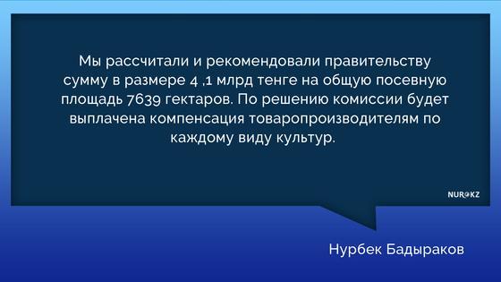 Подсчитан ущерб от наводнения в Туркестанской области