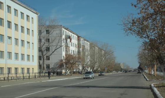 Улицы города Аркалык