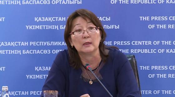 Ляззат Ақтаева. Фото: primeminister.kz