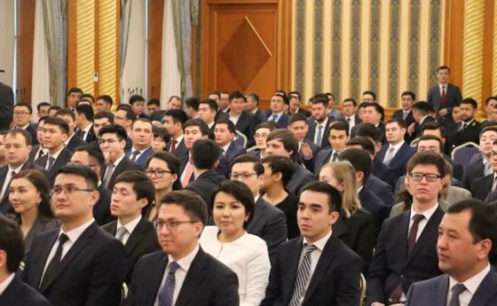Встреча Токаева с резервистами в январе 2020 года. Фото: NUR.KZ