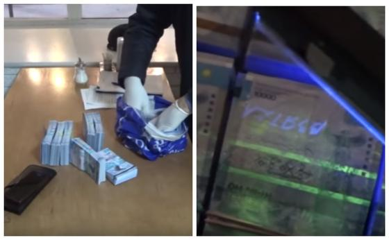 Кәсіпкерден 500 мың доллар бопсалаған алаяқтар құрықталды (видео)