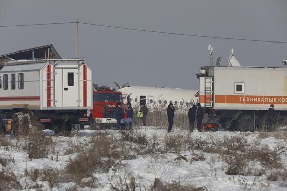 Стали известны все имена и точное число погибших при крушении самолета в Алматы