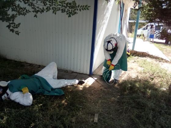Как работают санитары COVID-морга в Уральске (фото)