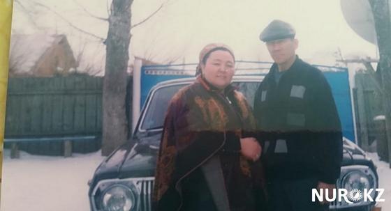 Гүлдарай Жанғалиева жұбайымен. Фото жеке мұрағаттан
