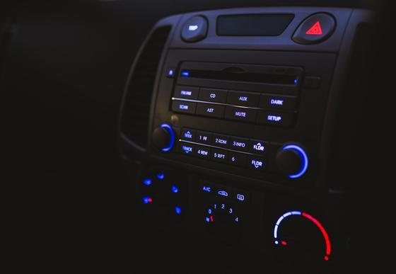Музыкальный центр в автомобиле