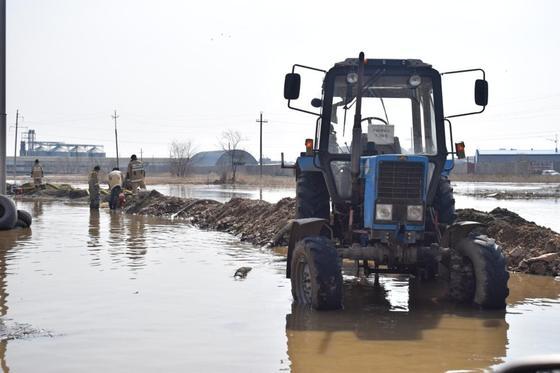 В Кокшетау удалось избежать массовых подтоплений и свести к минимуму последствия весеннего паводка