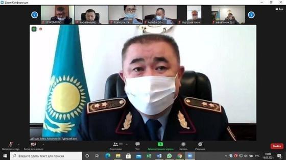 видео-конференция с участием МВД