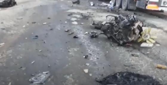 Газовоз взорвался после аварии в Алматинской области: погиб человек