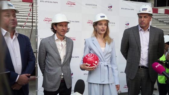 Наталья Водянова на мероприятии