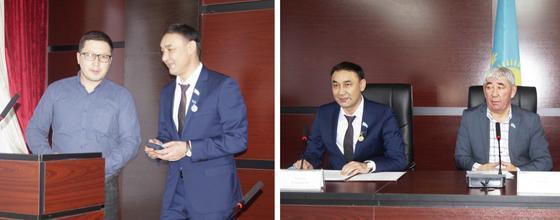 Бақытжан Ертаев үздіктерге медаль тақты