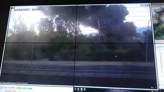 Трансляция с камер наблюдения