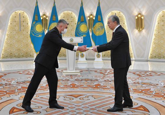 Касым-Жомарт Токаев и Батыр Реджепов