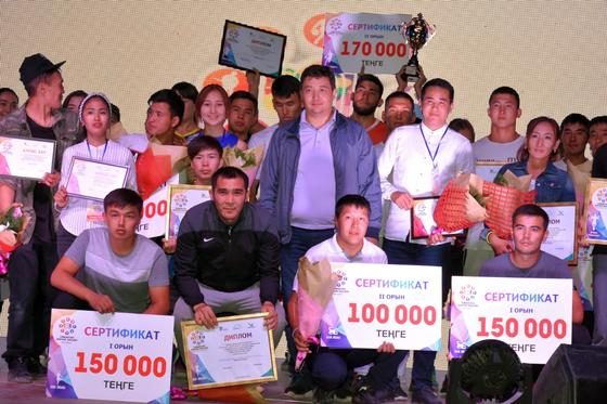 В фестивале «Turkistan-Jastar Qalasy!» приняли участие свыше 30 000 молодых людей