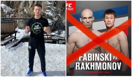 Дебют первого казахстанца в UFC сорвался из-за коронавируса
