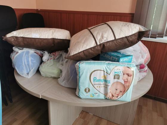 В Алматинской области отправляют караваны с гуманитарной помощью в Арысь