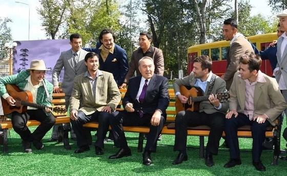 Где любит отдыхать Нурсултан Назарбаев