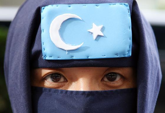 Флаг Восточного Туркестана