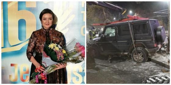 Стало известно о состоянии актрисы, выжившей в страшной аварии с Gelаndewagen