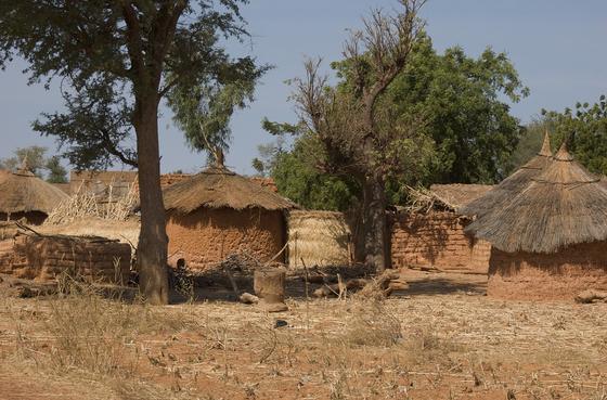Населенный пункт в Буркина-Фасо