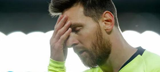 """Месси расплакался в раздевалке после поражения от """"Ливерпуля"""""""