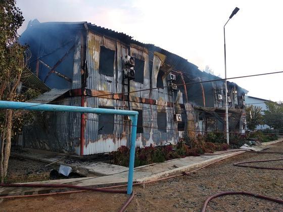 Пожар в Мангистау